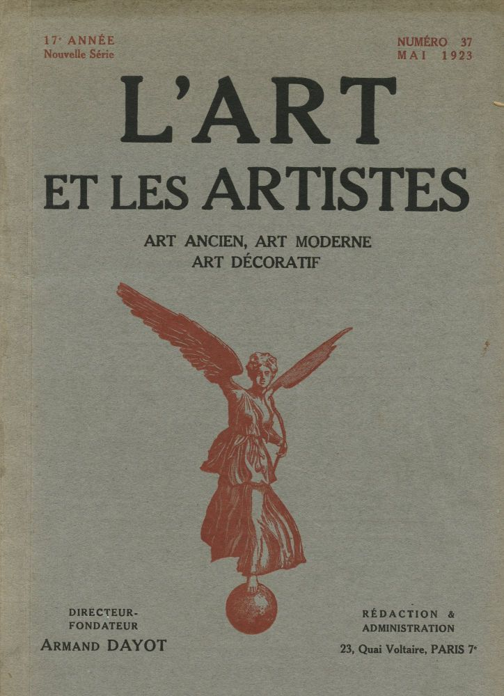 L'Art et Les Artistes. Romaine BROOKS.