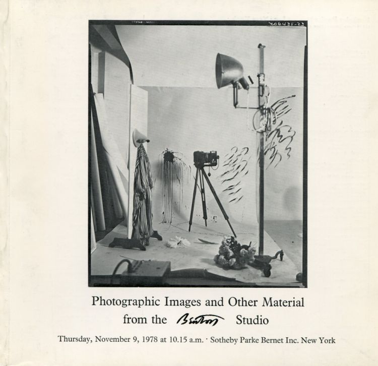 Photographic Images and other Material from the Beaton Studio. Cecil BEATON.