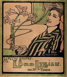 Lord Lyllian: Black Masses (Messes Noires). Lord Alfred Douglas, Oscar Wilde.