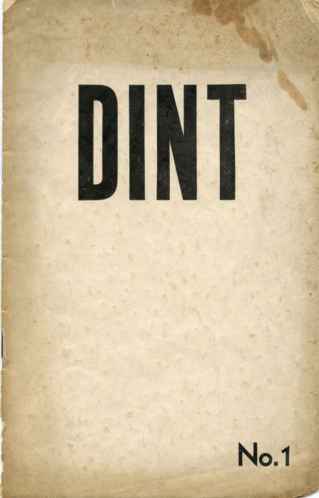 Dint: anthology of modern poetry. Denton WELCH, Feyyaz Kayacan Fergar, ed Sadi Cherkeshi.