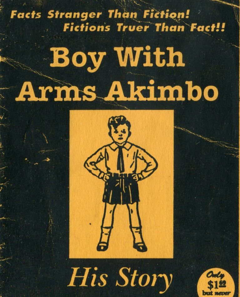 Boy with Arms Akimbo. AIDS ADVOCACY.