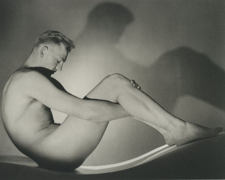 In Platinum From The Kinsey Institute. George Platt LYNES.