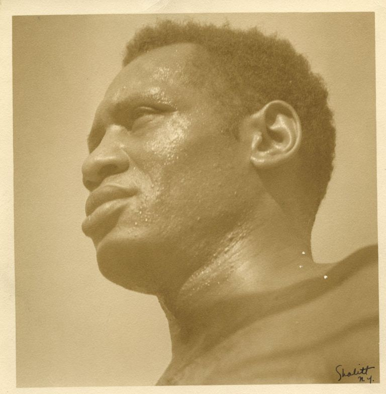 Portrait of Paul Robeson. SHALITT.