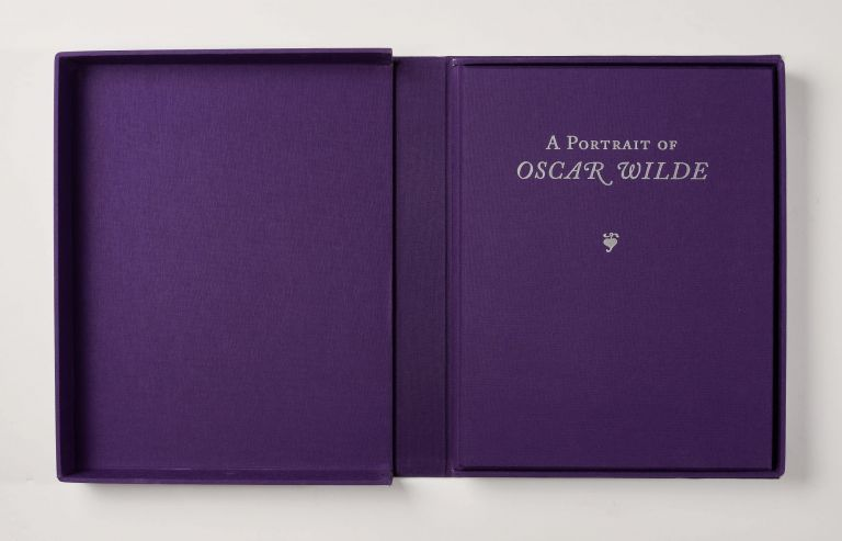 A portrait of Oscar Wilde: from the Moreira Salles Collection of literary manuscripts. Oscar WILDE.