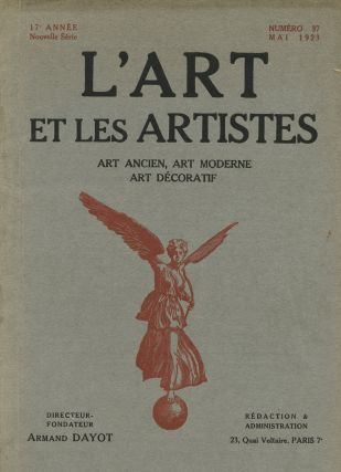 L'Art et Les Artistes. Romaine BROOKS