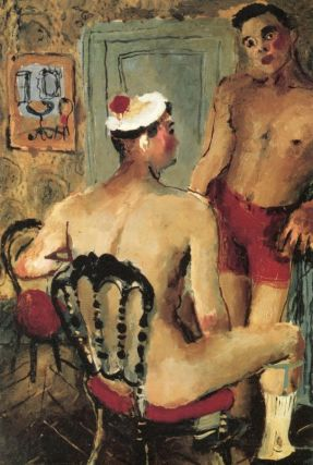The Homoerotic Art of Pavel Tchelitchev. David LEDDICK, TCHELITCHEW