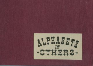 Alphabets and Others