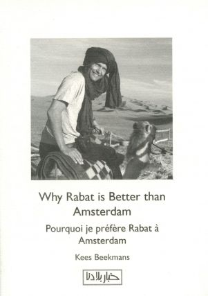 Why Rabat is Better than Amsterdam. Kees BEEKMANS