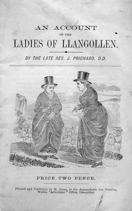 A Short Memoir of the Ladies of Llangollen. Rev. J. PRICHARD