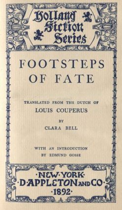 Footsteps of Fate. Louis COUPERUS