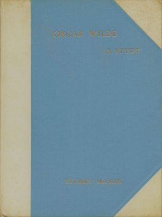 Oscar Wilde A Study. From the French of André Gide