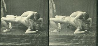 A vintage male nude photograph. MALE NUDES
