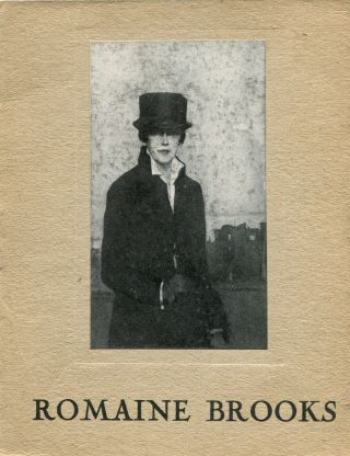 L'exposition de Romaine Brooks: du 2 au 20 Juin 1925. Romaine BROOKS