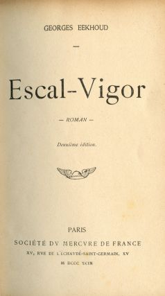 Escal-Vigor. Georges EEKHOUD