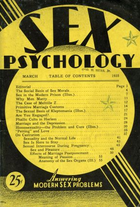 Sex Psychology. Charles CLARKE